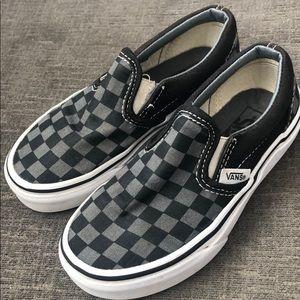 Kids Checkerboard Vans